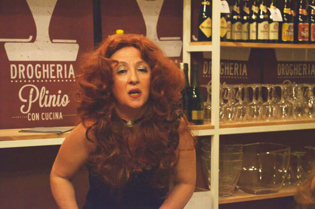 l'attrice Rosa Startari