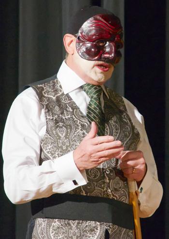 l'attore Gerardo Notari