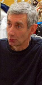 l'attore Claudio De Fabiani