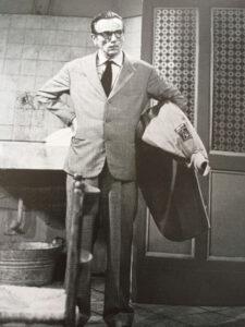 Eduardo De Filippo in una foto di scena