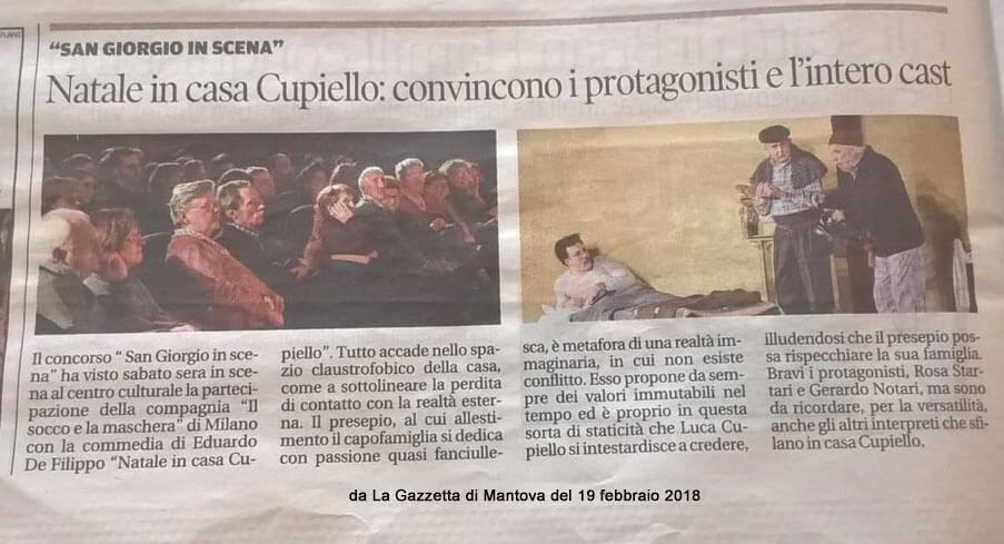 L'articolo su La Gazzetta di Mantova