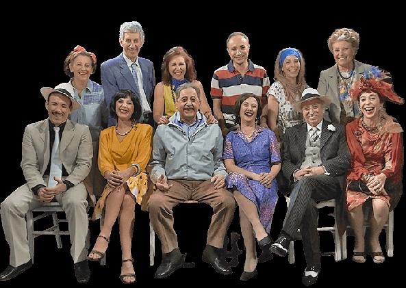 i componenti del cast dello spettacolo