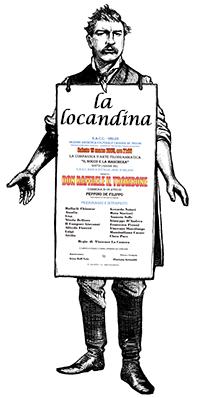 manifesto della commedia Don Raffaele il trombone