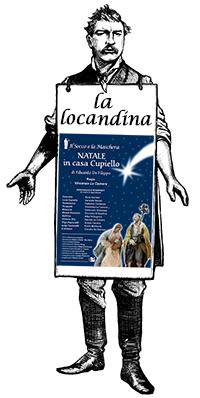 Manifesto della commedia Natale in casa Cupiello