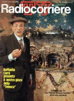 copertina del Radiocorriere TV del 1977, con Eduardo De Filippo